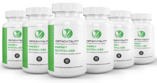 6 potjes Energy Revitalizer 60caps, (Q10 120mg, L-carnitine 250mg, Acetyl-l-carnitine 250mg)