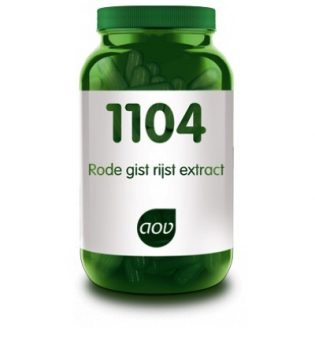 1104 Rode gist rijst-extract