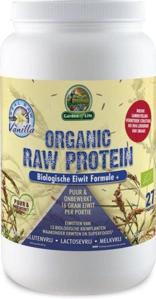 Garden of Life raw proteïne vanille