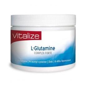 L-Glutamine complex Forte (Glutamine, Zink, NAC en R-Alfaliponzuur)