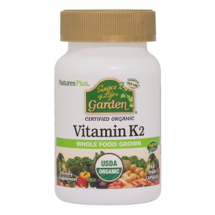 Source of Life Garden Vitamin K2 120 mcg Vcaps