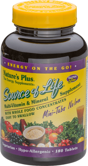 Source of Life® No Iron – Minitabletten