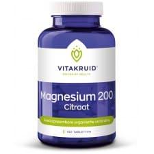 Magnesium citraat 200 (100 tabletten)
