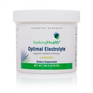 Seeking health Optimal electrolyten poeder Limonade