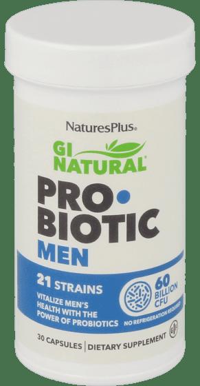 GI natural probiotica man 30 capsules