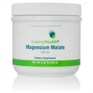 Magnesium Malaat 500mg  Seeking Health 250gram