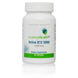Actief  B12 5000 methylcobalamine & adenosylcobalamine 60 smelttabletten