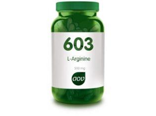 L-arginine (603) – (500mg)